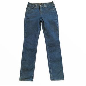 Miracle Body High-Rise Straight Leg Jeans